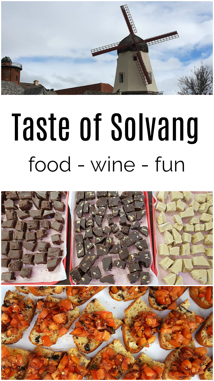 Taste of Solvang - Food Wine Fun - Food Festival