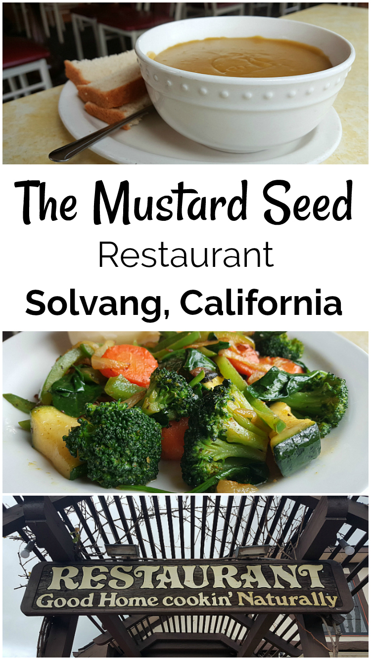 The Mustard Seed Restaurant - Solvang, California - Little Denmark in the USA