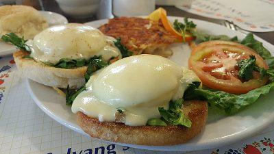 eggs benedict paulas