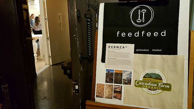 feedfeed kernza event