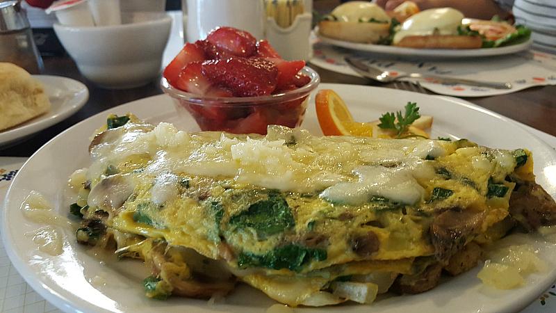 mushroom omelet paulas