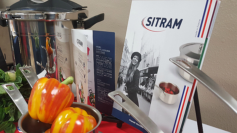 sitram pressure cooker and cookware