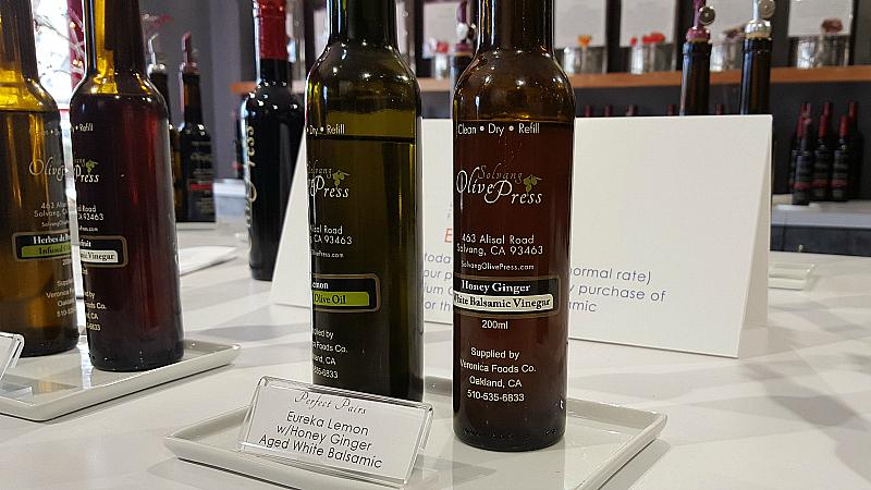 solvang olive press oil balsamic