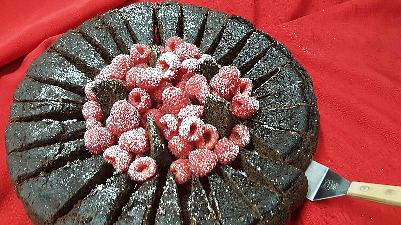 vegan pressure cooker cake