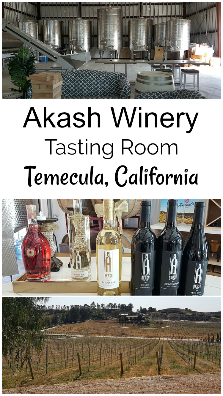 Akash Winery Tasting Room Temecula, California - Temecula Wine Country