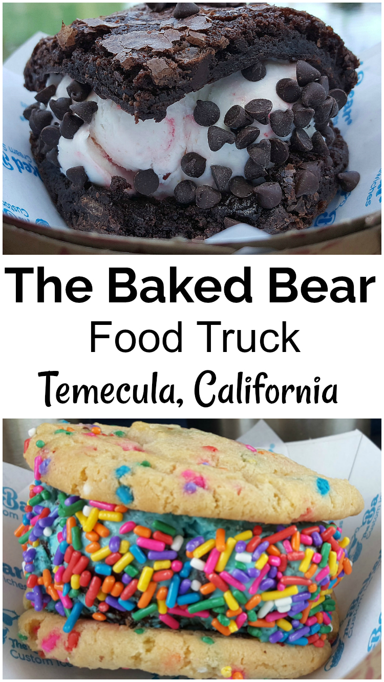 The Baked Bear Food Truck - Custom Ice Cream Sandwiches - Temecula, California