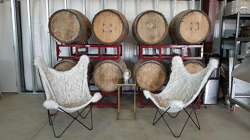 akash tasting room seating