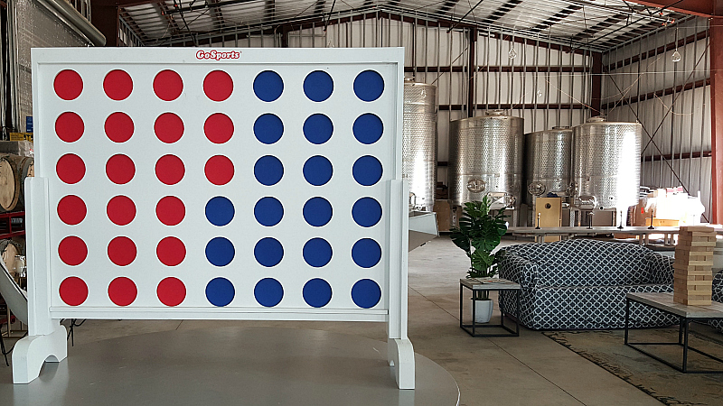 giant connect four akash winery