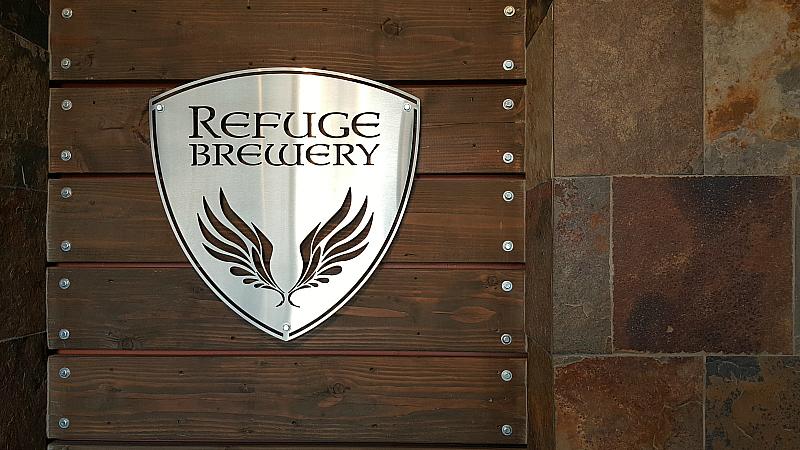 refuge brewery entrance