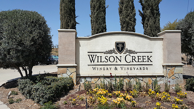 wilson creek sign