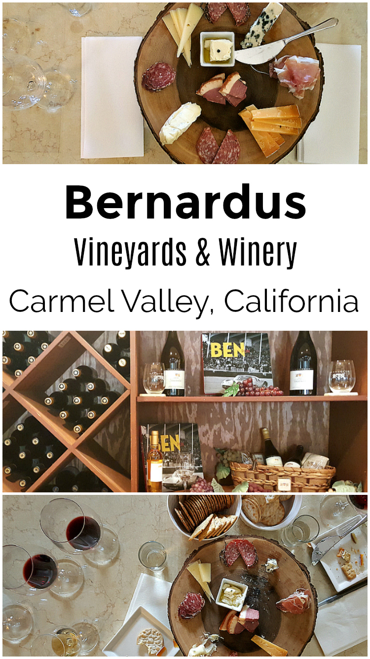 Bernardus Wine Tasting - Bernardus Vineyards and Winery in Carmel Valley, California - Monterey Wines