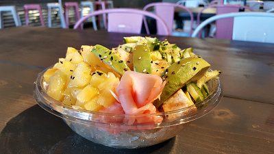 aloha poke vegan bowl