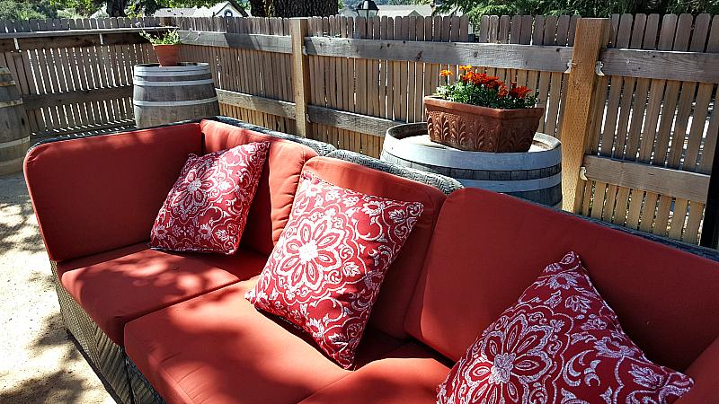 bernardus patio sofa