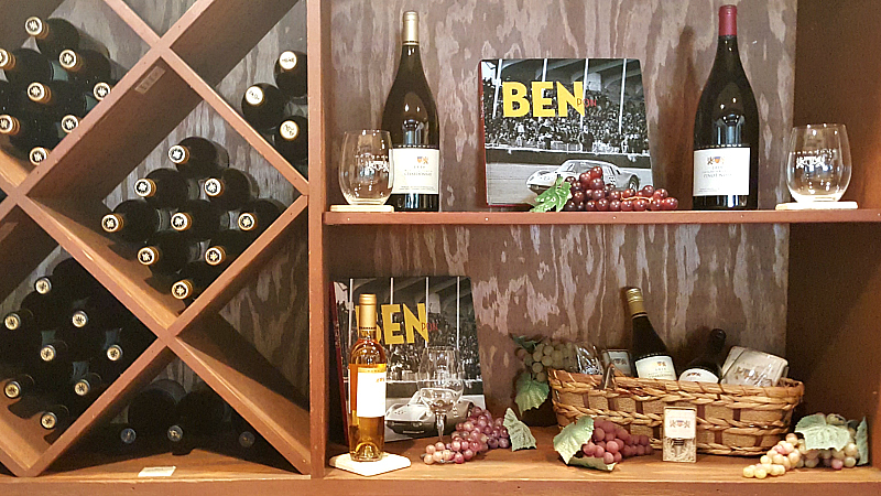 bernardus bar shelf