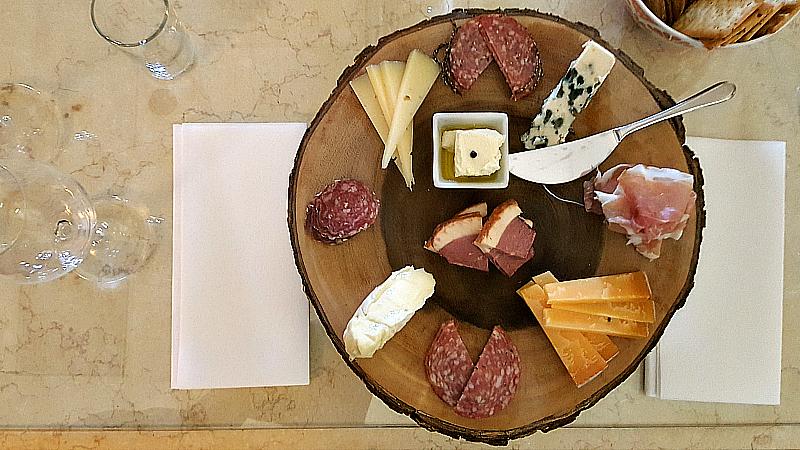 bernardus cheese platter