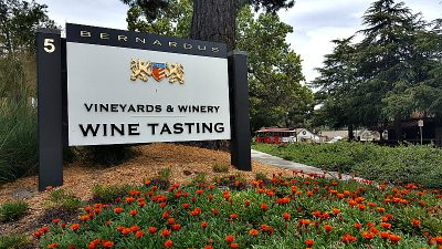 Bernardus Wine Tasting in Carmel Valley, California