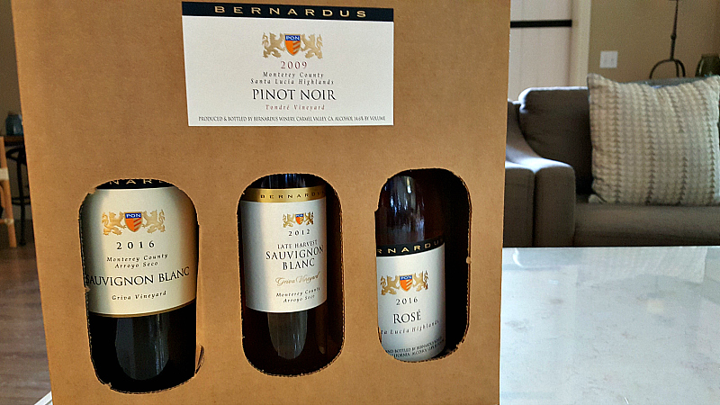 bernardus wine to go