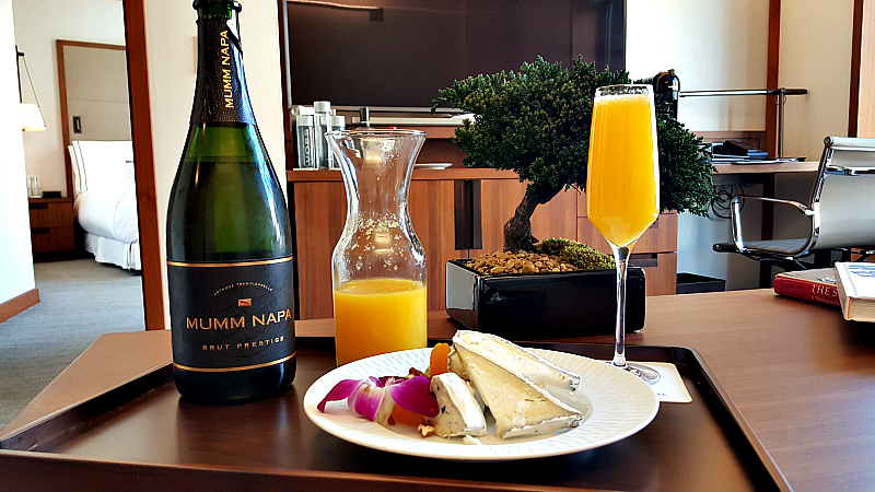 clement mumm oj cheese