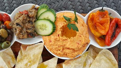 hyatt hummus apps