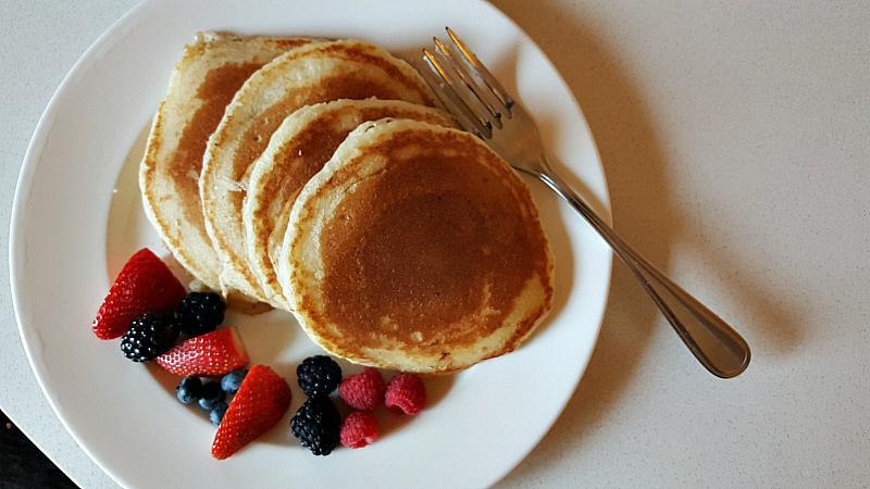 hyatt room service pancakes