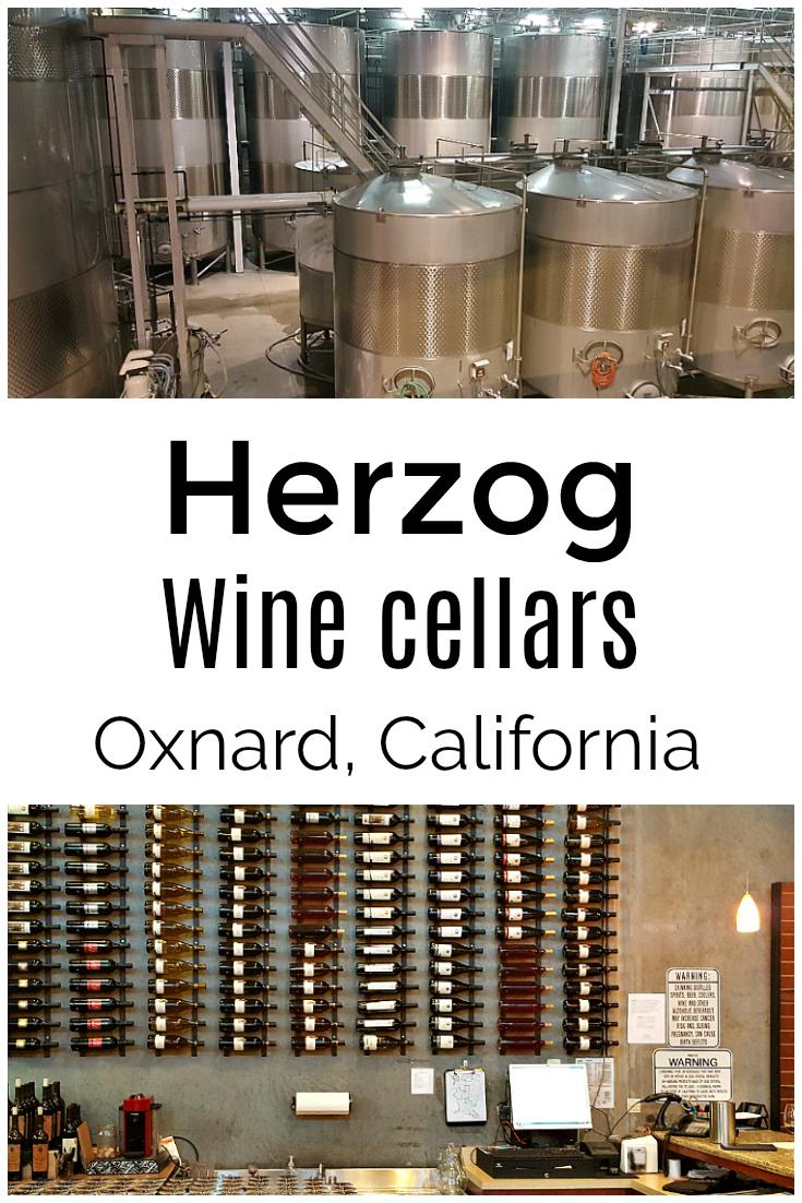 Herzog Wine Tasting - Herzog Wine Cellars Oxnard California
