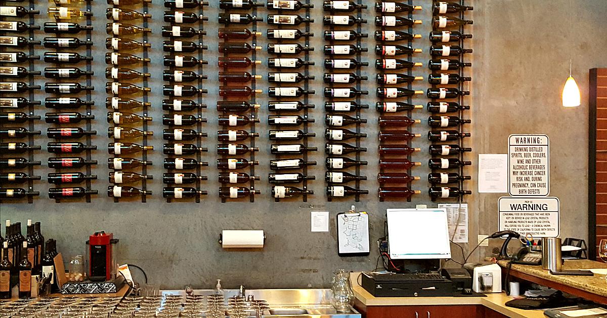 herzog wine cellars tasting room