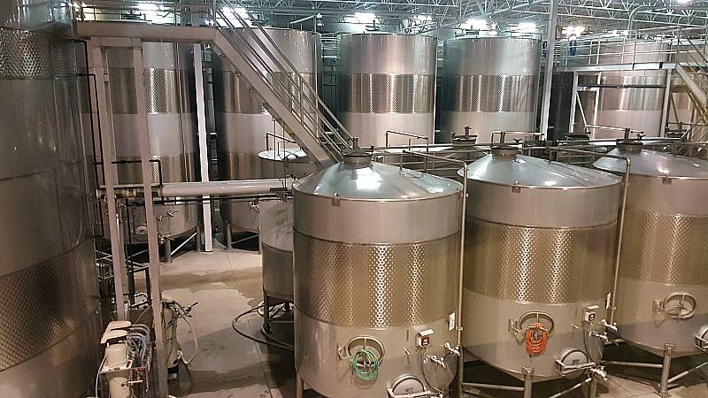 herzog wine fermentation tanks