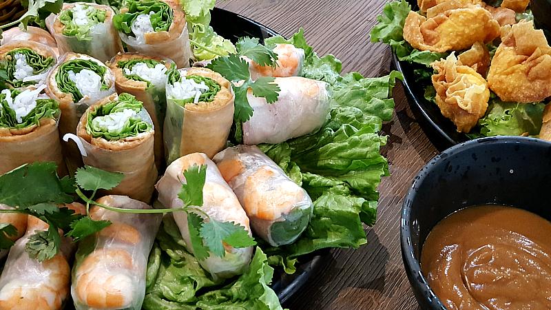 oxnard love pho spring rolls