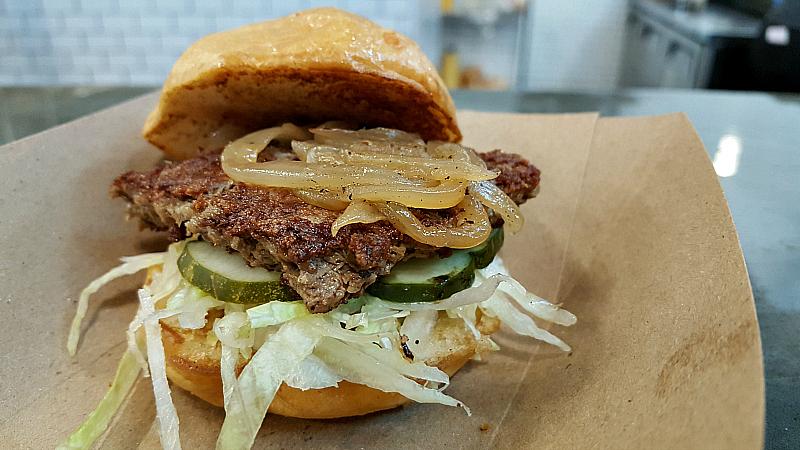 oxnard scratch veggie burger