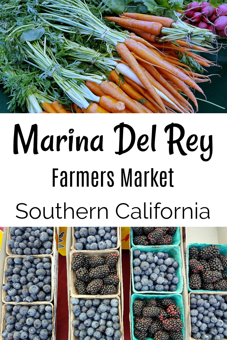 Marina Del Rey Farmers Market in Los Angeles County, Southern California