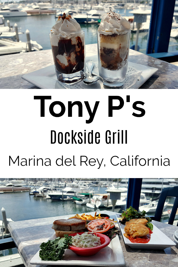 Tony P's Dockside Grill in Marina Del Rey