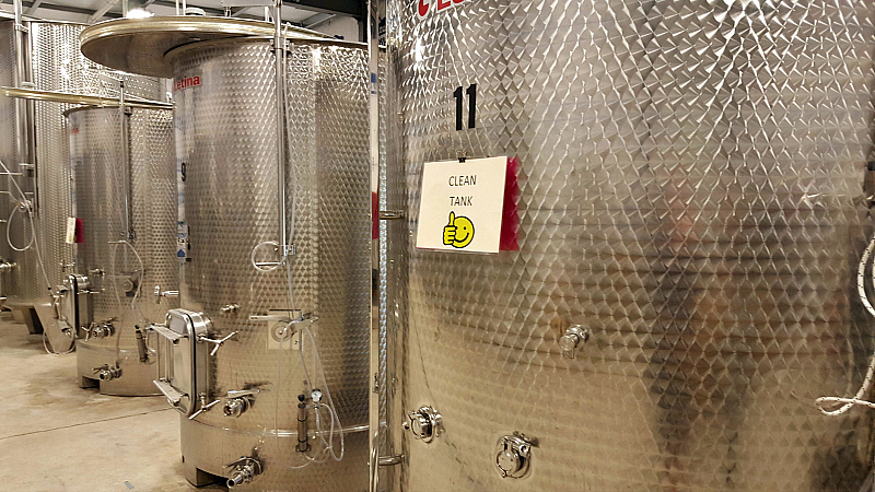 lodi acquiesce winery tanks