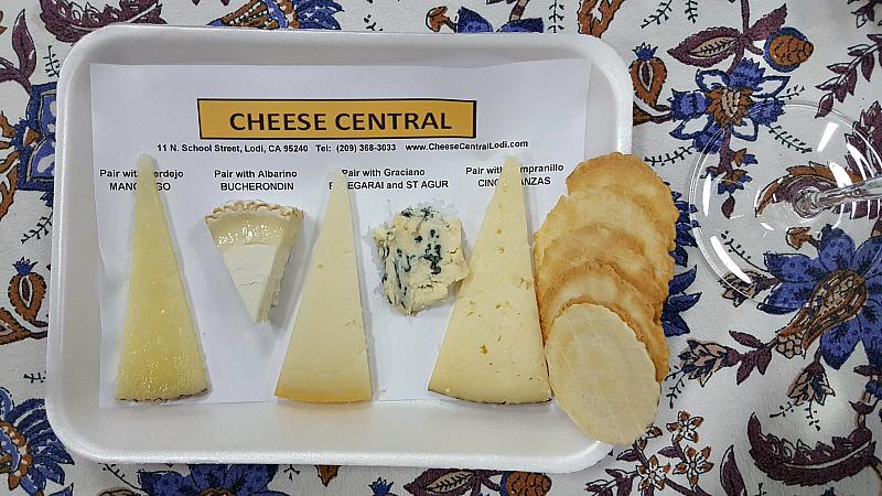 lodi bokisch cheese pairing