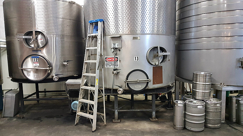 lodi bokisch winery tanks