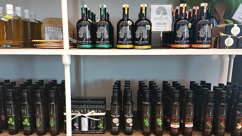 lodi calivirgin olive oils