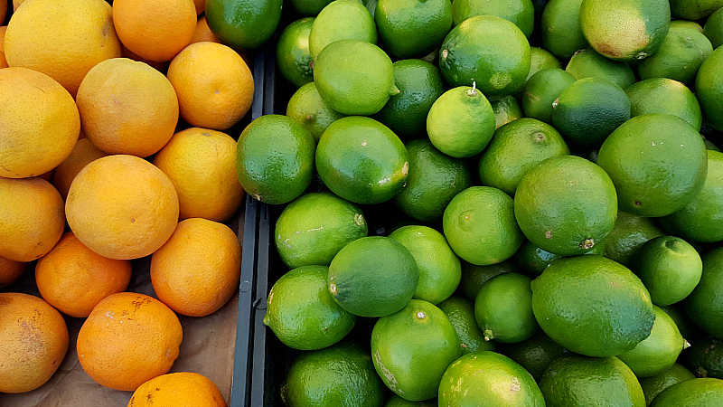 mdr farmers market limes citrus