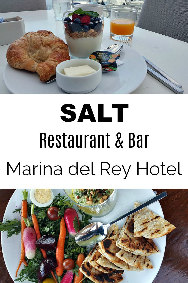 SALT Restaurant & Bar at Marina Del Rey Hotel - Hotel Food near Los Angeles in Southern California