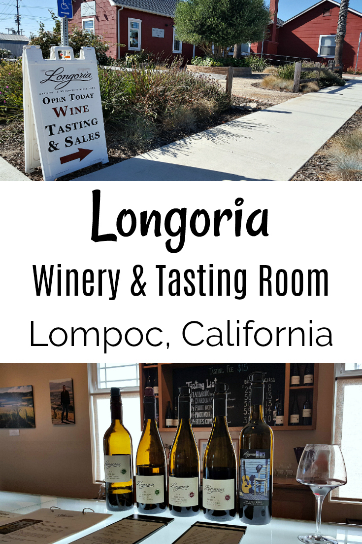 Longoria Winery Tasting Room in Lompoc, California - Santa Barbara Wine Region near Vandenberg AFB