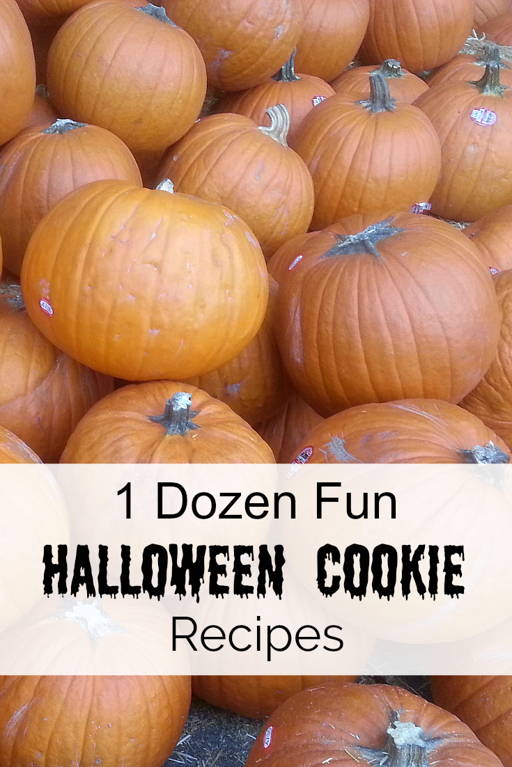 Fun Halloween Cookies Recipes - Halloween Cookie Recipe Roundup - Bats, Spiders, Monsters, Frankenstein, Pumpkins, Candy Corn - Halloween Party Food Great for Classroom Parties