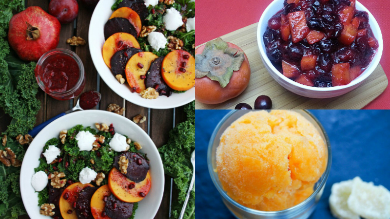 2 round up persimmon recipes