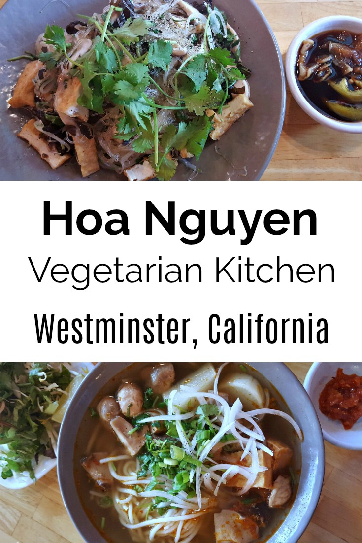Hoa Nguyen Vegetarian Kitchen by Quan Hy in Westminster, California - Little Saigon Vegetarian Restaurant - Vietnamese Food