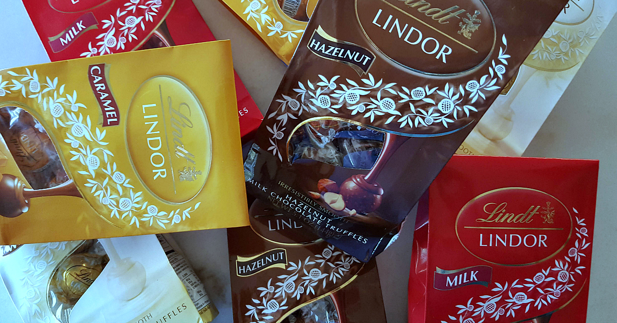 lindt lindor truffles packages