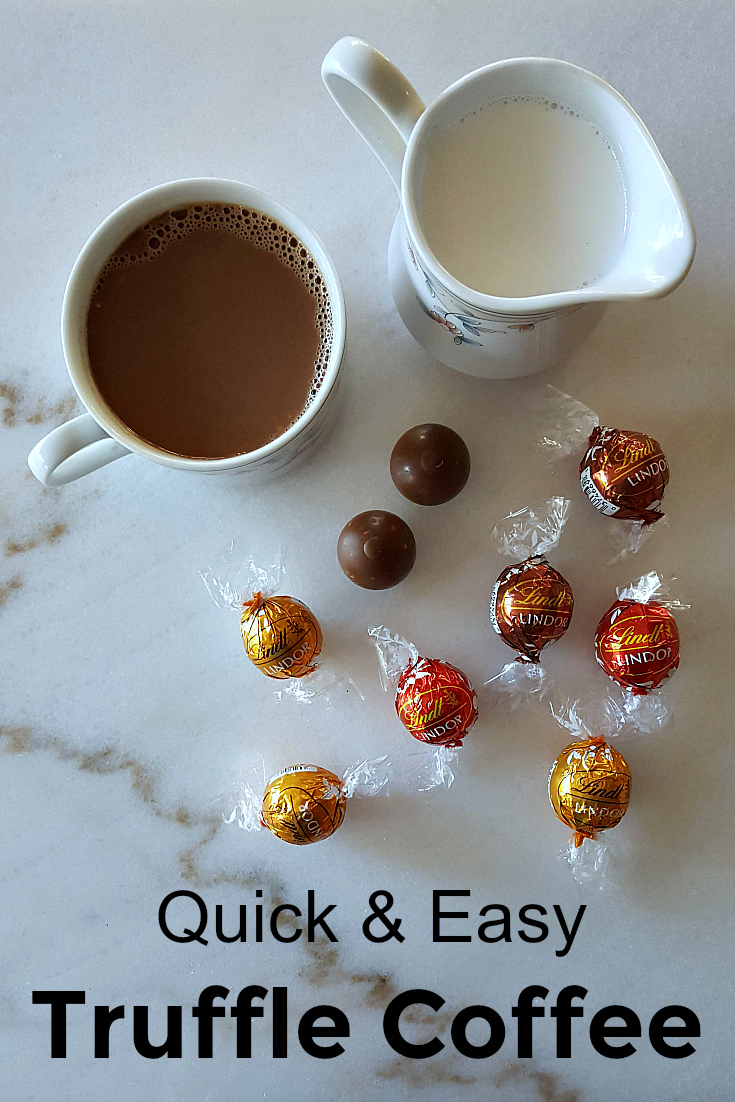 Easy Chocolate Truffle Coffee Recipe