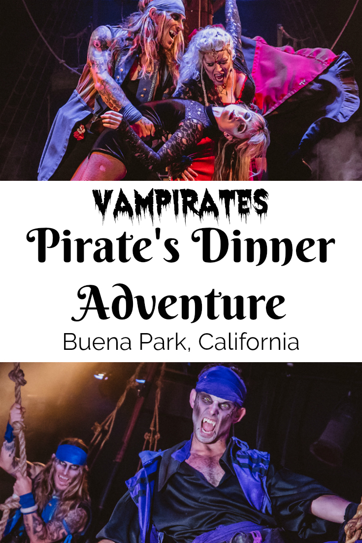 Vampirates Pirates Dinner Adventure Show in Buena Park, California - Family Friendly Dinner Theater