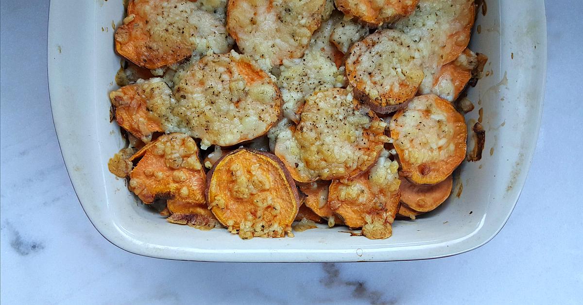 scalloped sweet potatoes 1