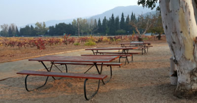 1 fortino picnic tables