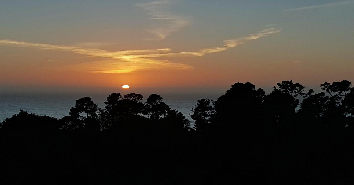 3 hofsas house carmel sunset