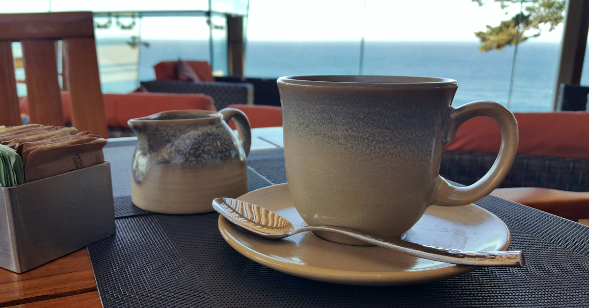 3 hyatt carmel highlands coffee cup