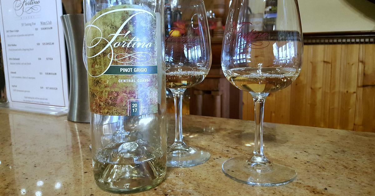 4 fortino winery pinot grigio
