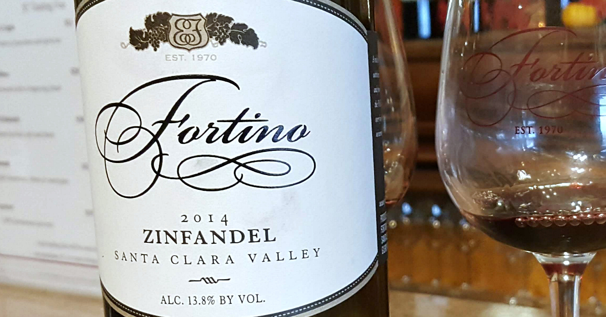 7 fortino winery zinfandel